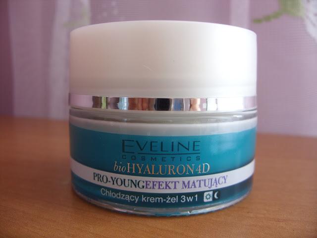 Recenzja: Chłodzący krem-żel 3w1 BioHyaluron 4D Eveline