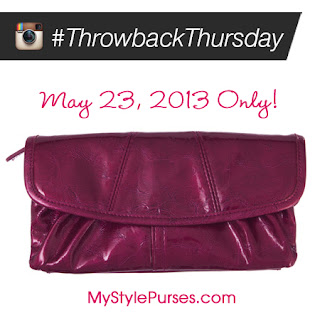 Miche Throwback Thursday May 23, 2013 - Fuchsia Wallet 50% OFF