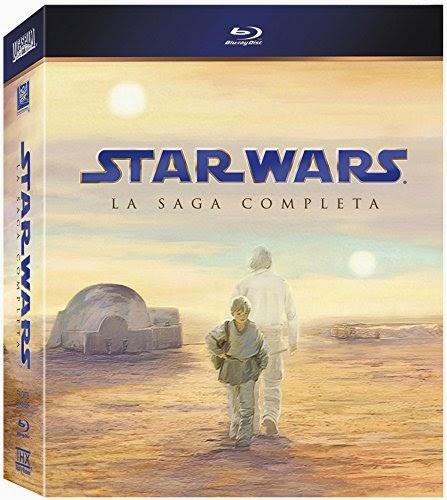 Colección completa de Star Wars en blue-ray