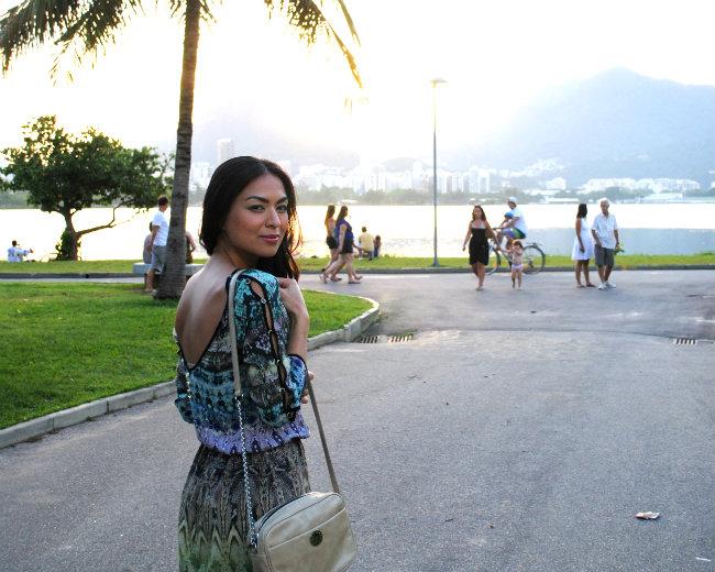 dress suite blanco, summer streetstyle, lagoa rio de janeiro, trend, style, tendencia, fashion blogger, bimba e lola