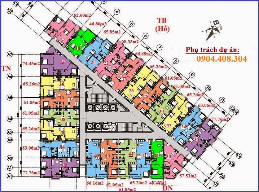 chung cư VP6 Linh Đàm
