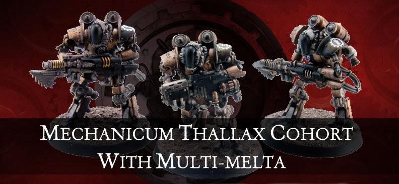 Mechanicum Thallax Cohort del Ordo Reductor añadiendole un Multi-Melta