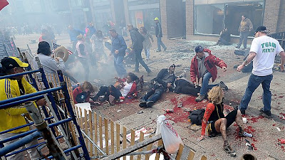Boston Marathon Bombing Photos