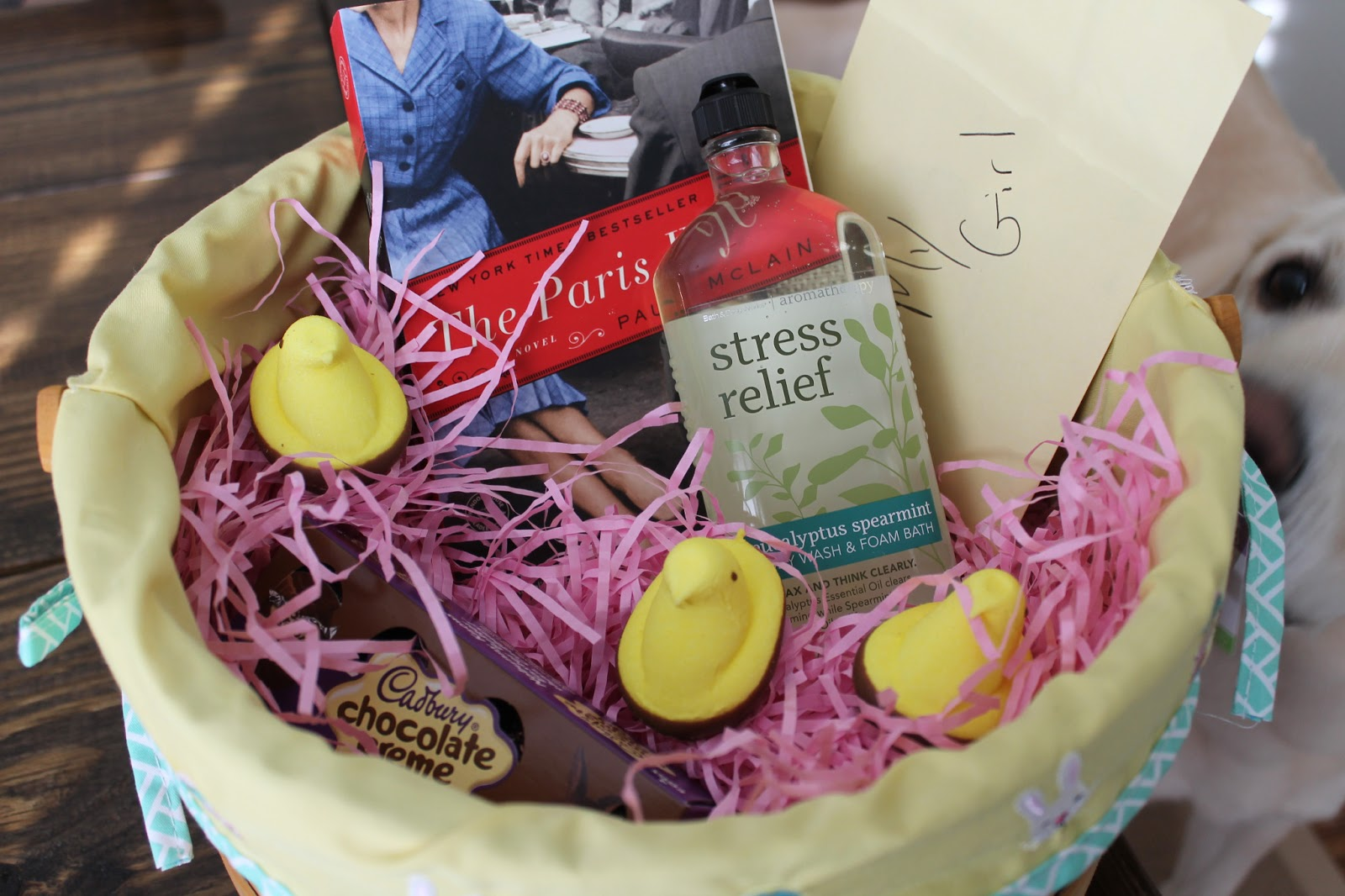 2013 easter weekend carolina charm easter basket 2 came from matt in typical fashion he couldnt wait until sunday to surprise me so he gave it to me friday after work i have to say negle Gallery