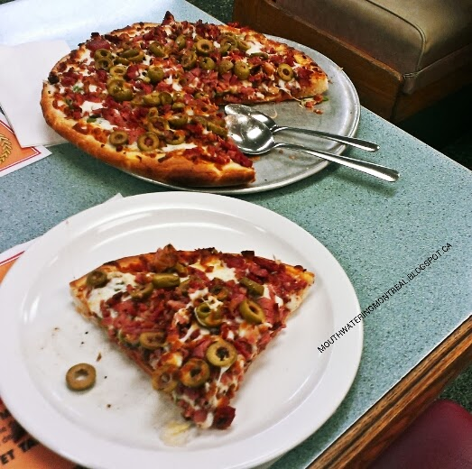 The best pizza at New System BBQ - Chef's Special pizza