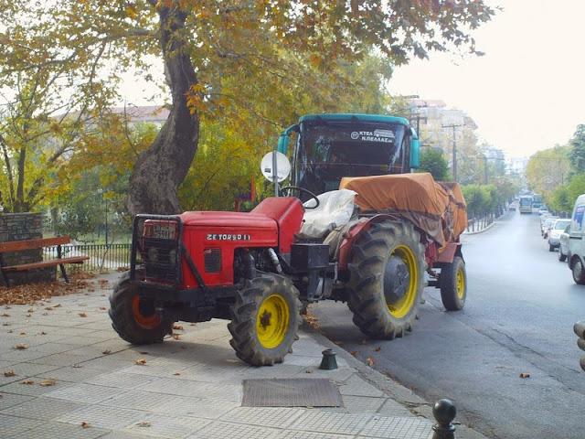 Το παρκάρισμα του αγρότη