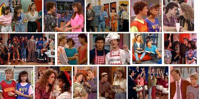 Fotogramas de la serie Salvados por la campana