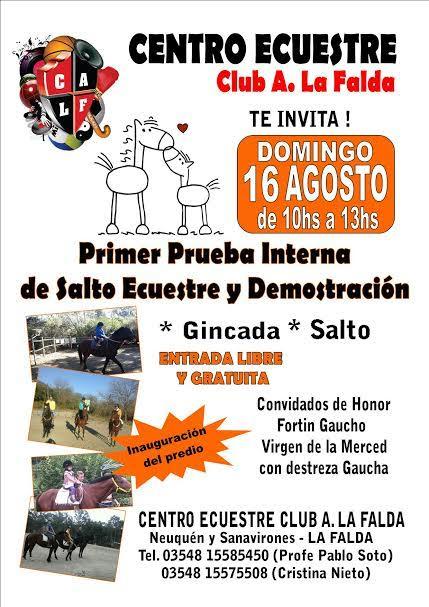 Gacetilla de Prensa Turismo de La Falda