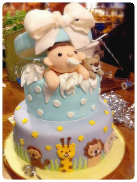 Cherie Kelly's Baby Boy Shower Cake