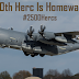 Lockheed delivers 2500 C-130 Hercules transport planes