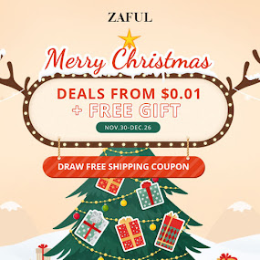 Merry Christmas - Zaful Promotion