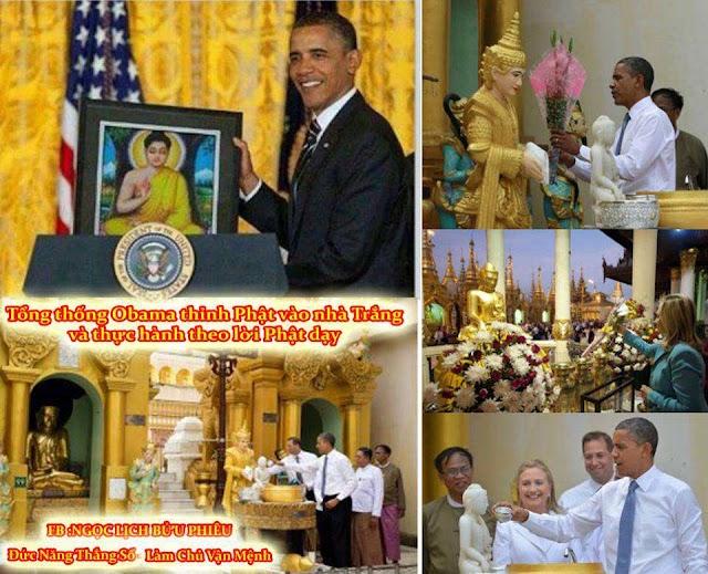 Nước Mỹ Sắp Tiêu Rồi: Obama mang Phật vào nhà Trắng