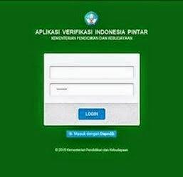 Panduan Aplikasi Verifikasi Program Indonesia Pintar