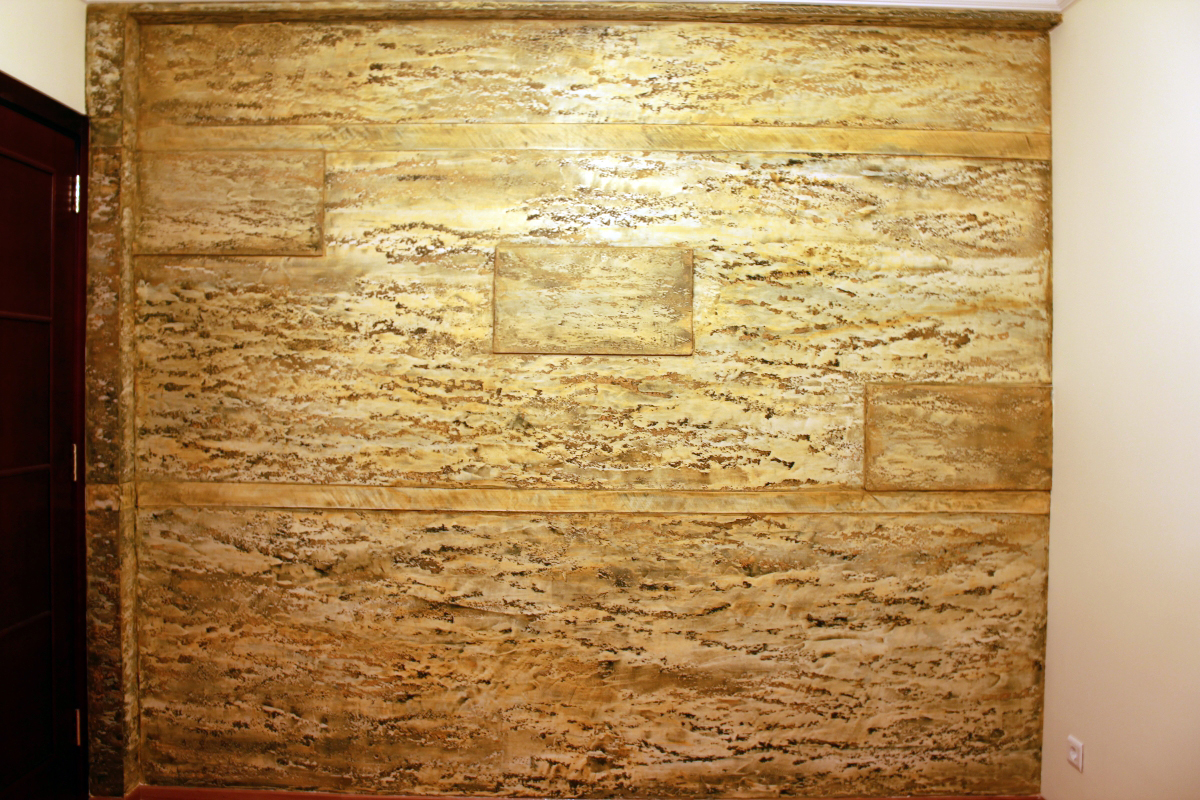 Travertine Faux Finish : Bb faux finish decorative tehniques travertine