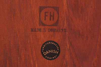 Manufactured by Fritz Hansen