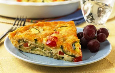Crust less Zucchini Quiche