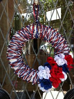 Dollar Store Wreath