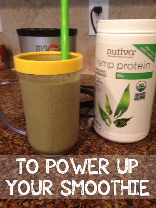 TO POWER UP YOUR SMOOTHIE