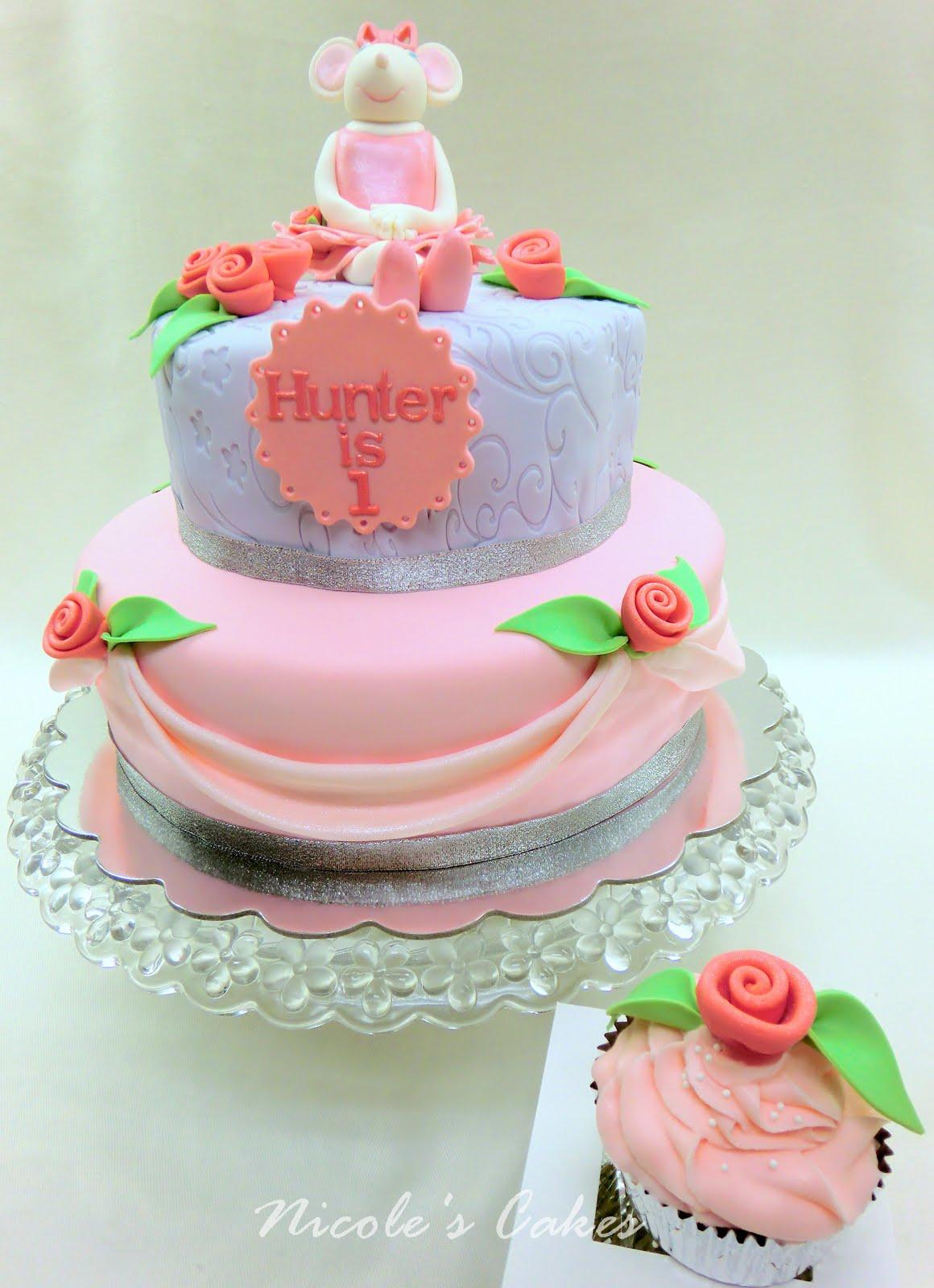 ... , Cakes & Creations!: Angelina Ballerina... 1st Birthday Cake