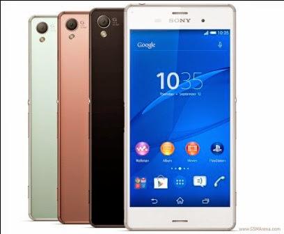 Spesifikasi Sony Xperia Z3 LTE, Smartphone Android Ram 3Gb