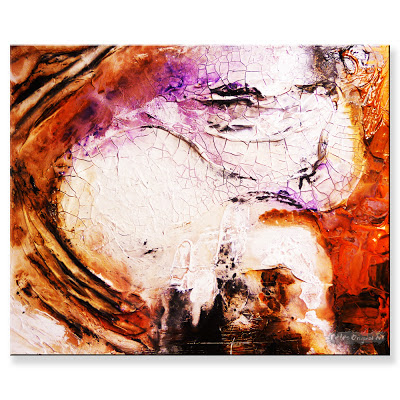 Abstract paintings by peter dranitsin castle of wonders for Textured acrylic abstract paintings