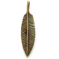 пальмовый лист перо кулоны из металла украина бронзовые
