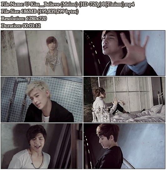 Download MV U-Kiss (유키스) - Believe (Melon HD 720p)