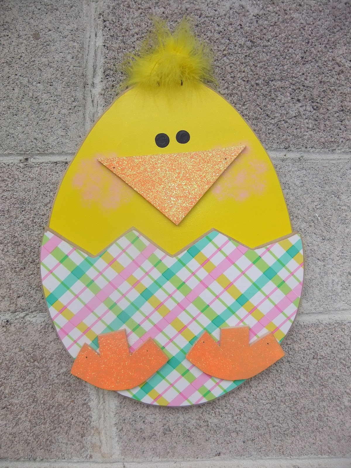 Sawdust sanity spring and easter crafts