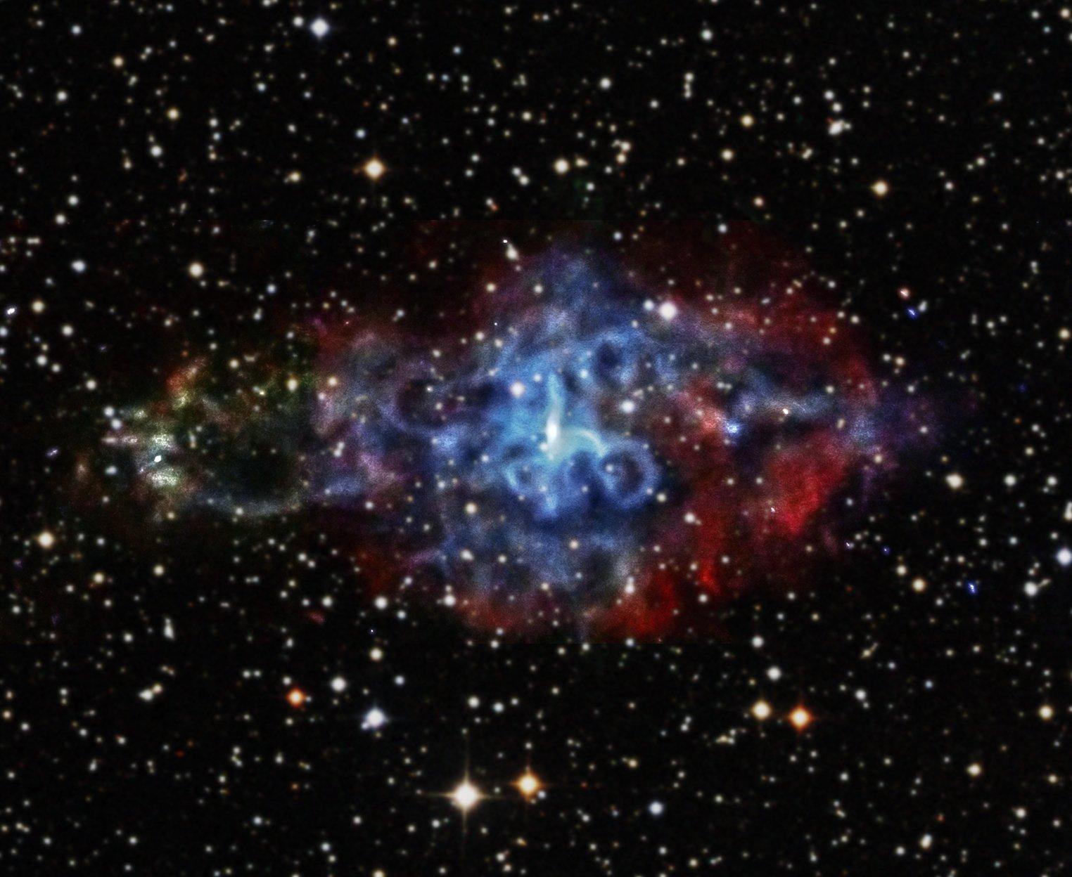 Остаток сверхновой 3C58