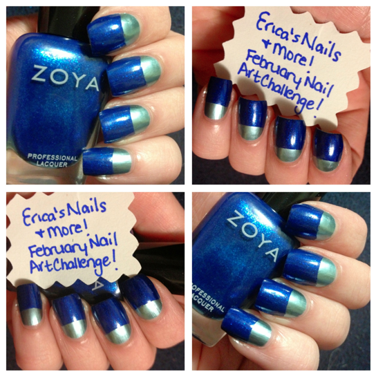 Epic Nail Time Ericas Nails More February Nail Art Challenge