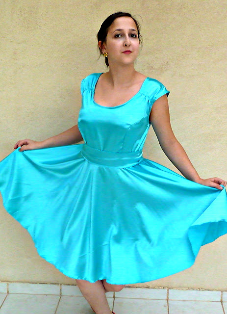 cindrella dress, circle dress, circle skirt