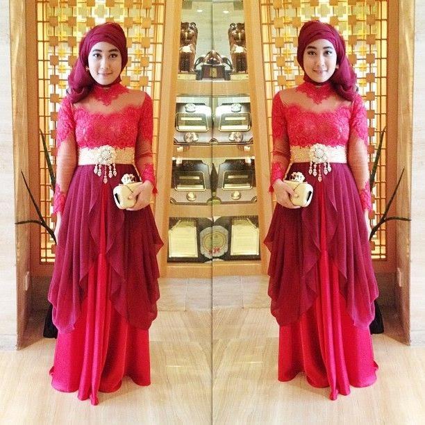 Model 4. Hijab Kebaya Modern Terbaru 2015