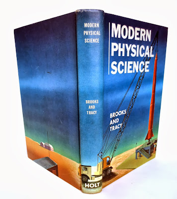 retro science textbook