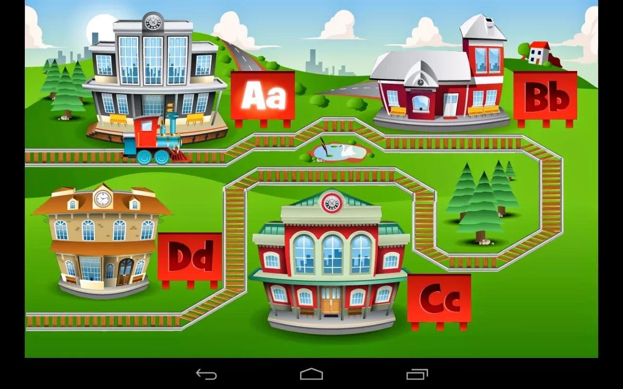 Kids ABC Trenes, juegos de aprender para ñinos
