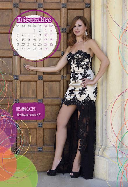 Calendario 2016 - Miss Mamma Italiana - Dicembre