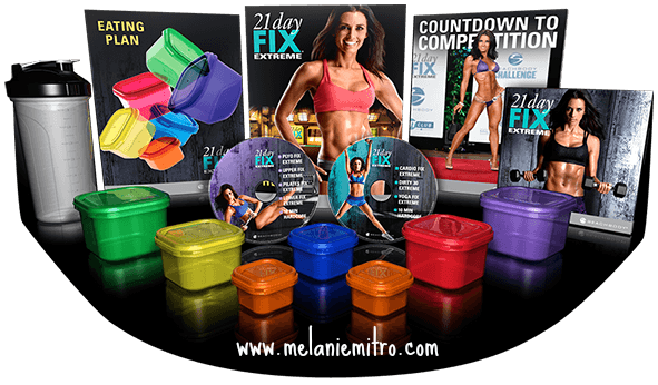 What is the 21 day fix extreme, Exclusive Test Group, Advanced Results, Get it now, Portion Controlled Containers, Recipes, Meal Plan for the 21 Day Fix Extreme, Melanie Mitro
