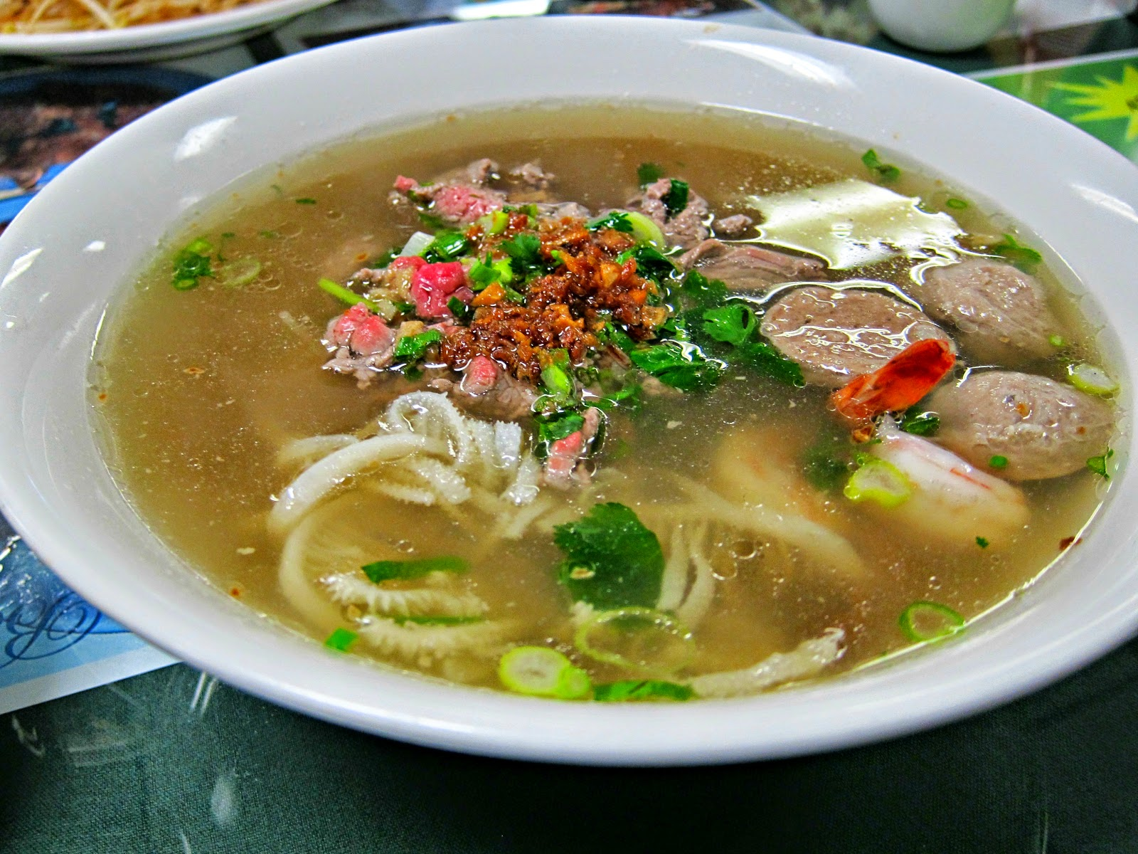 Phnom Penh Noodle Soup Recipe — Dishmaps