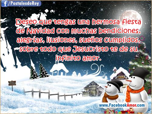 Postales navide as im genes bonitas para facebook amor y - Postales navidenas bonitas ...
