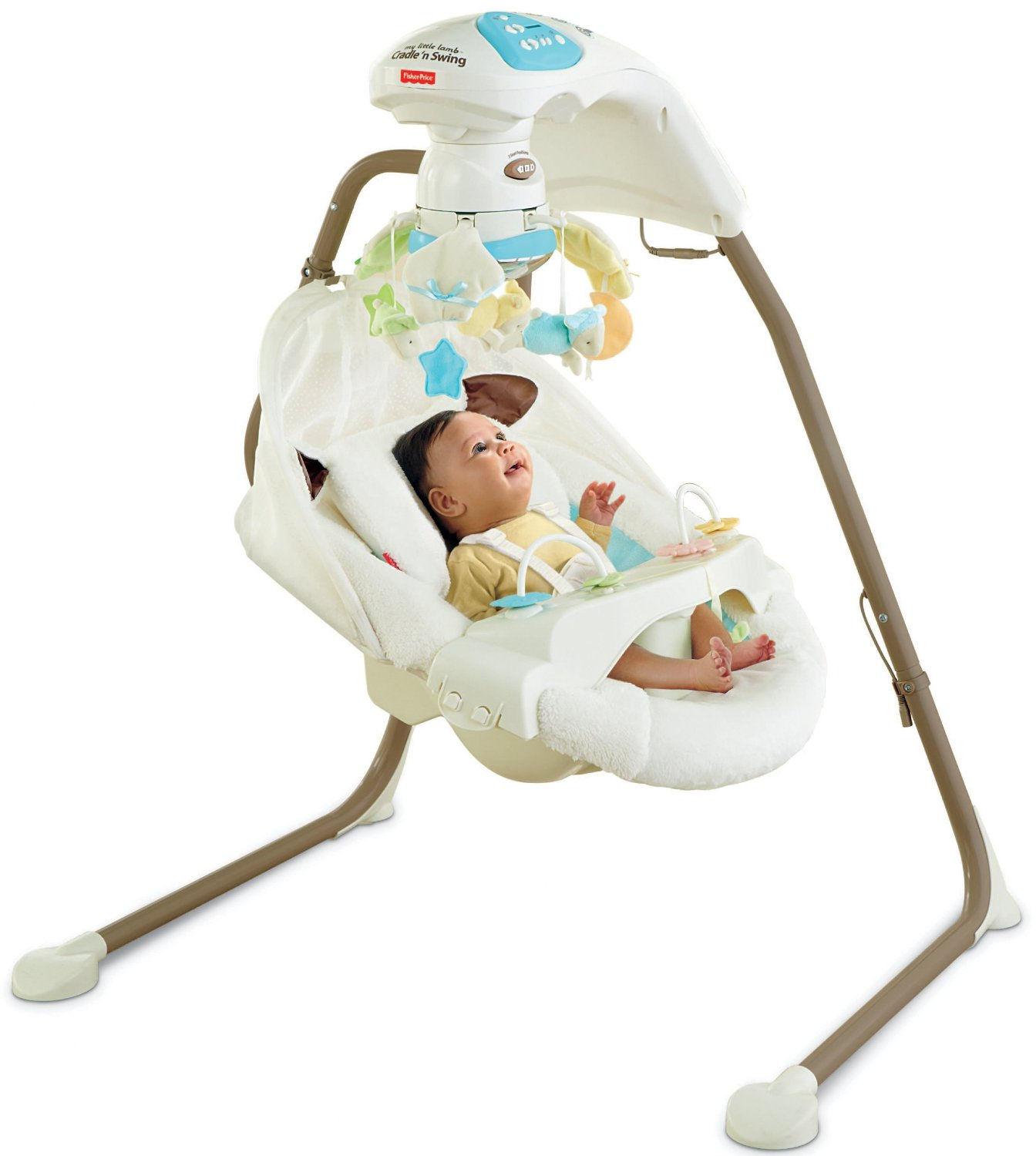 Fisher Price Cradle N Swing With Ac Adapter My Little Lamb