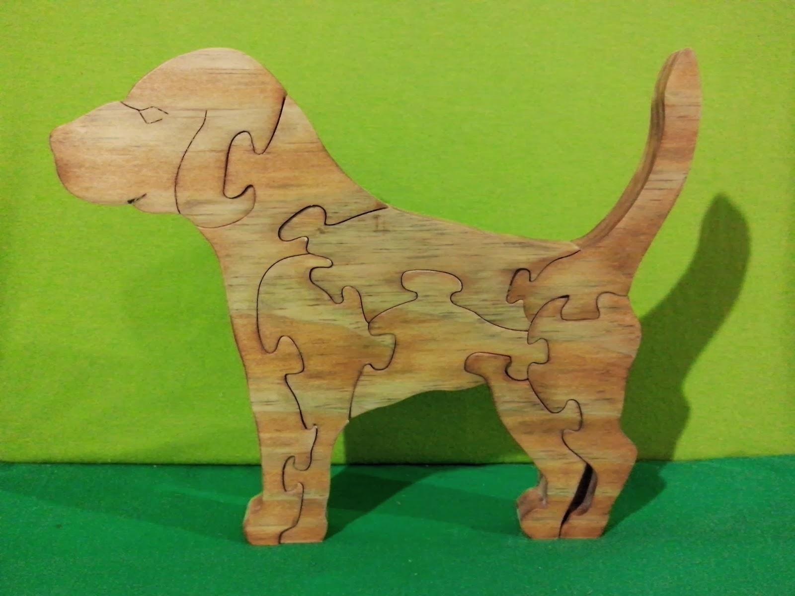 cachorro madeira artesanato brasilia