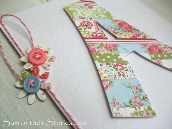 Tutorial for initial birthday card