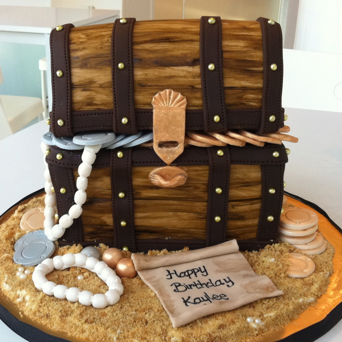 Tearoom By Bel Jee Treasure Chest Cake