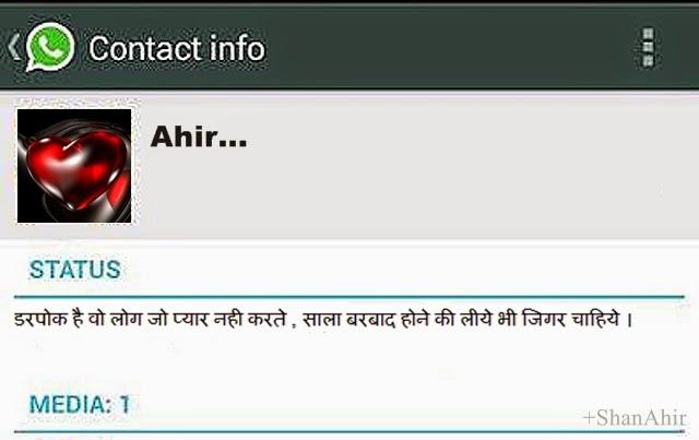WhatsApp Messager Hindi-Shayari/quotes Status Screen[www.whatsapp.com]
