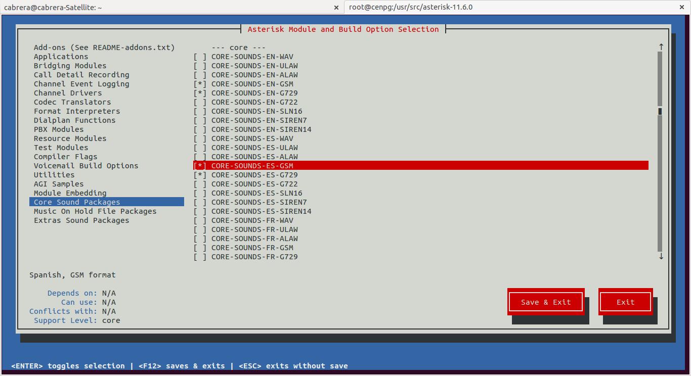 DriveMeca instalando Asterisk en un servidor Linux Centos 6.4