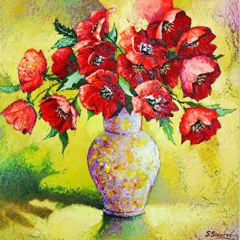 flores-pintados-con-espatula