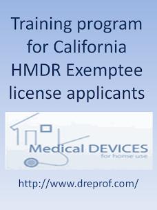 California Exemptee Certification - Online Class