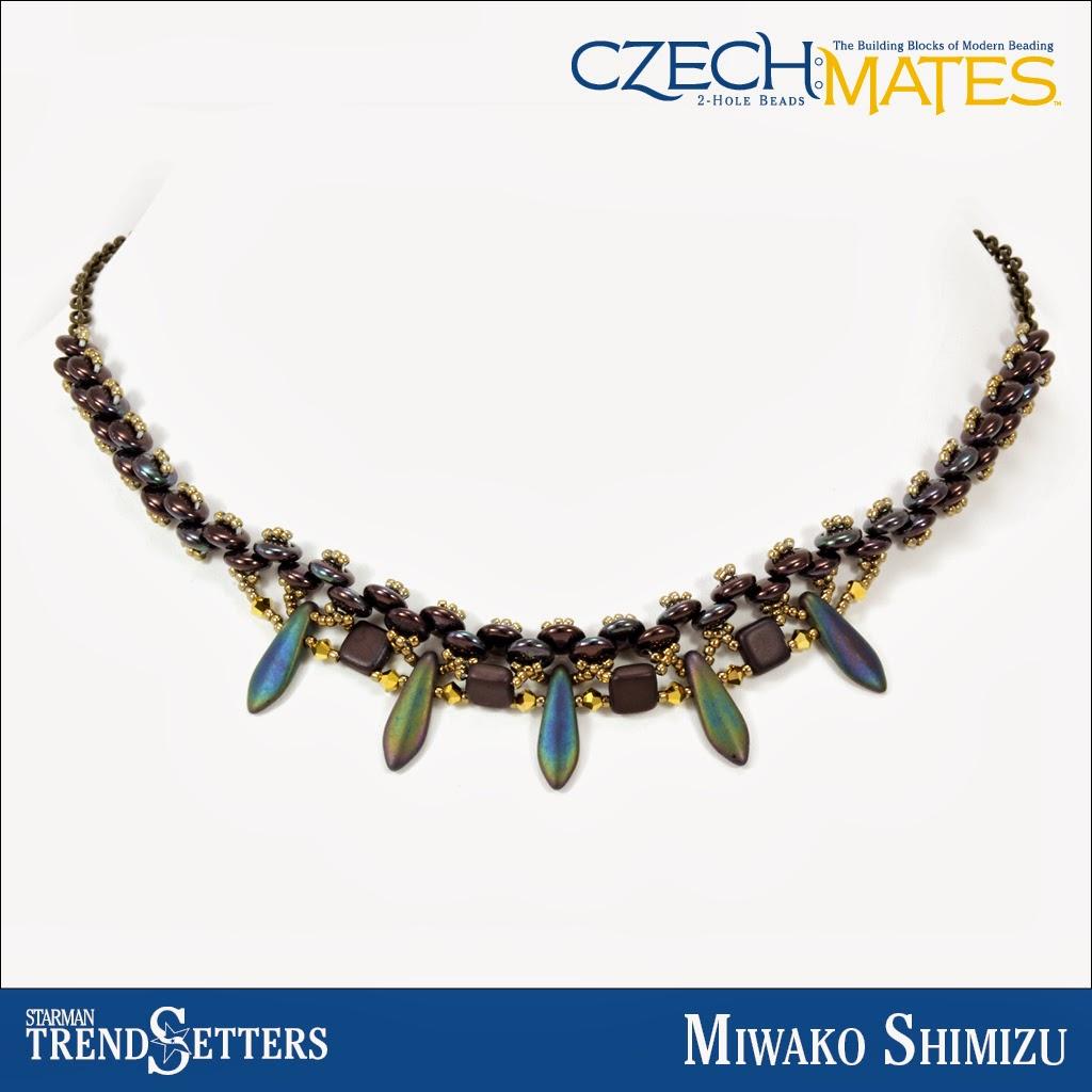 CzechMates Dagger necklace by Starman TrendSetter Miwako Shimizu