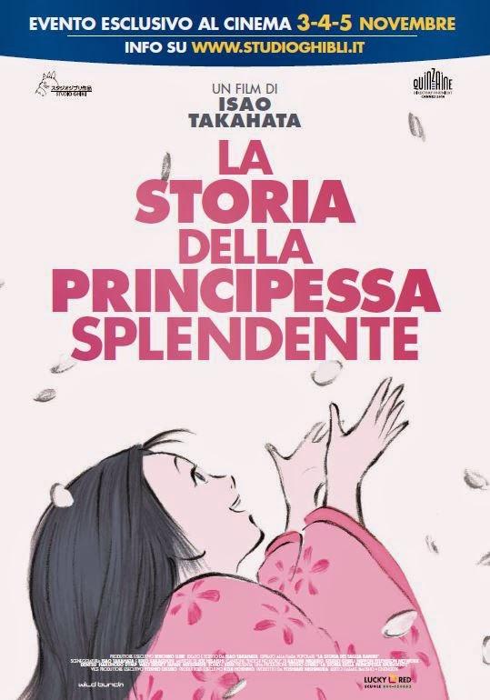 LA STORIA DELLA PRINCIPESSA SPLENDENTE, DI ISAO TAKAHATA AL CINEMA IN ITALIANO