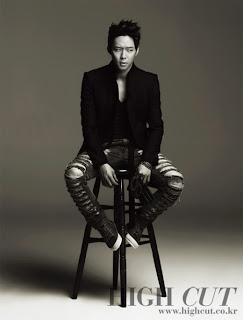 [Fotos] Yoochun para High Cut 01