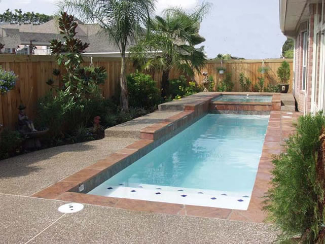 For the home on pinterest small pools small swimming for Pool design katy tx